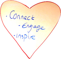 Connect - Engage - Inspire